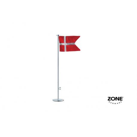Stål bordflag Zone
