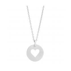 Valentin halskæde sølv