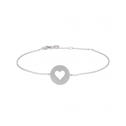 Valentin armbånd sølv