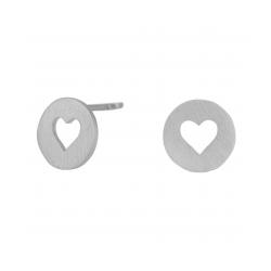 Valentin ørestikker sølv