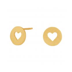 Valentin ørestikker forgyldt