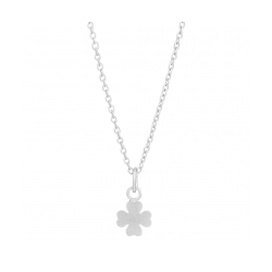 Lucky halskæde sølv