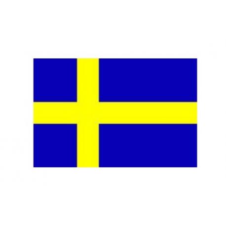 40 cm svensk flag til bordflag