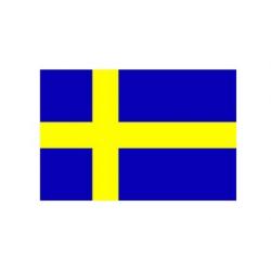 Svensk flag til 30 cm bordflag