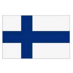 Finsk flag til 40 cm bordflag