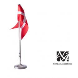 Fortinnet bordflagstang 38.5 cm