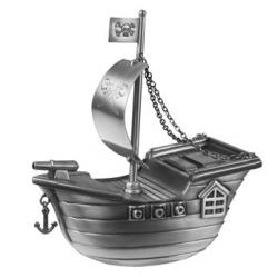 Sørøverskib sparebøsse