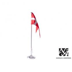 Sølv bordflagstang 38,5 cm