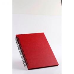 Rød scrapbog
