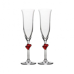 Amour champagneglas