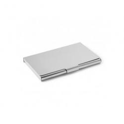 Kortholder blank stål