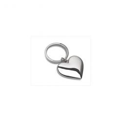 Hjerte nøglering i stål
