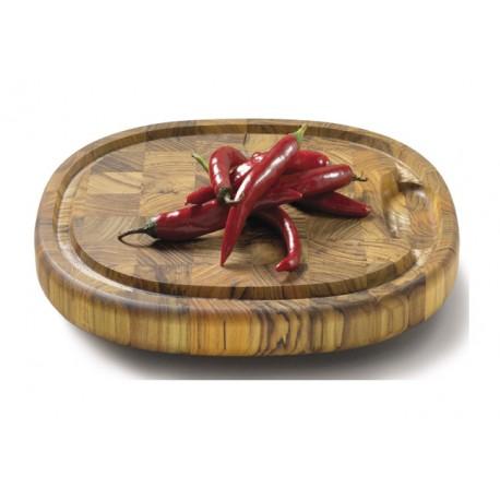 Piet Hein teaktræ skærebræt