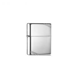 Zippo lighter blank chrome